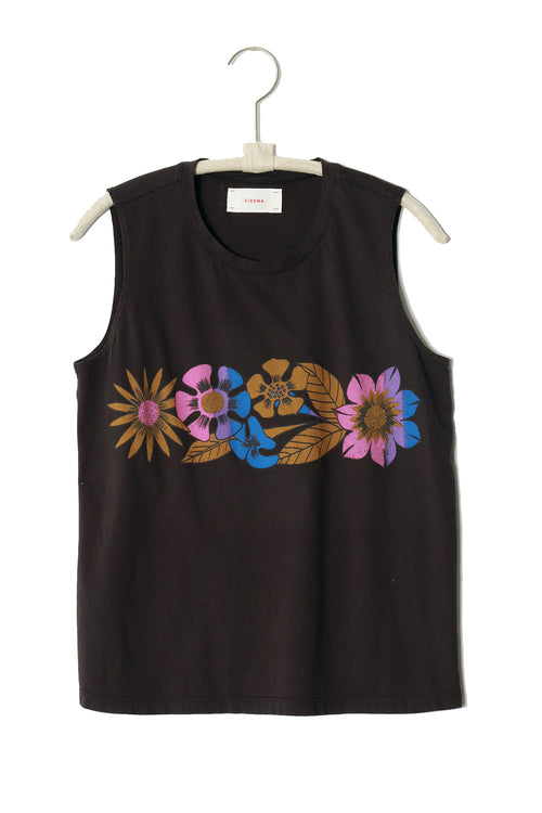 True Tank Top in Vintage Black