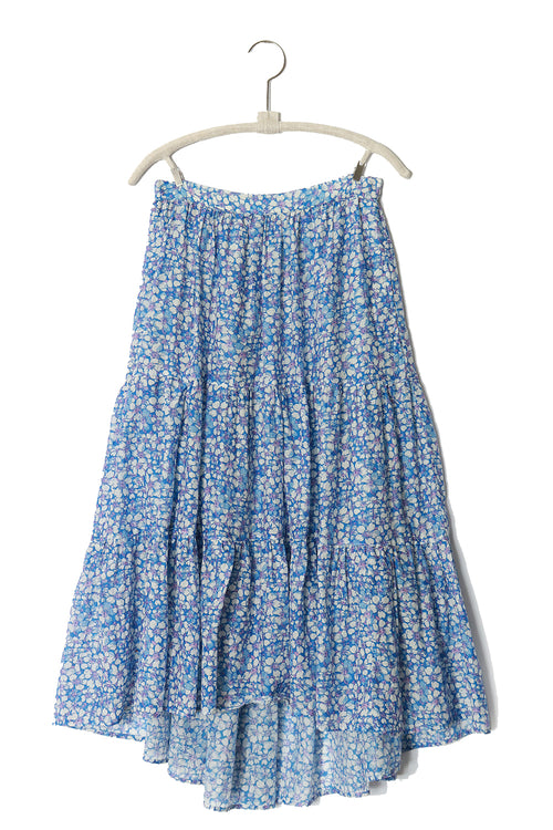 Iris Skirt in Bleu Bell