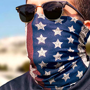 All, Red White and Blue Patriotic Face Mask