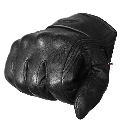 Premium Leather Motorcycle Gel Gloves