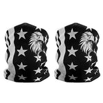 2-Pack American Flag Eagle Pattern Face Mask