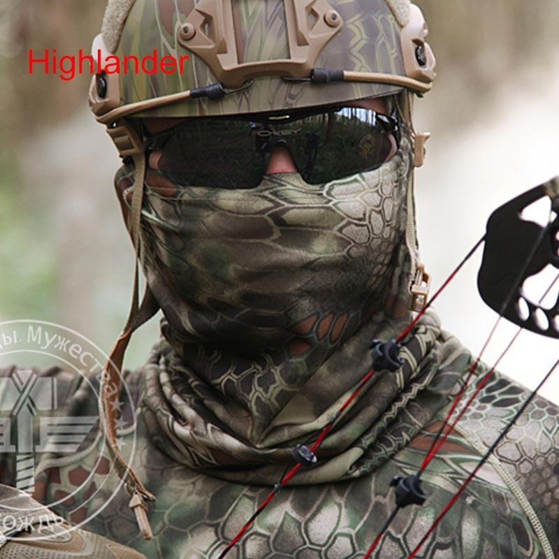 Military Sniper Face Mask