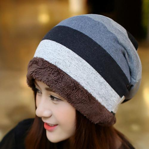 Knitted Winter Beanies For Women