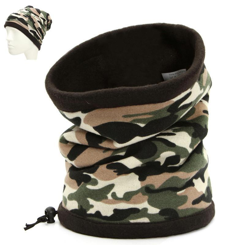 Outdoor Camouflage Fleece Balaclava Hat