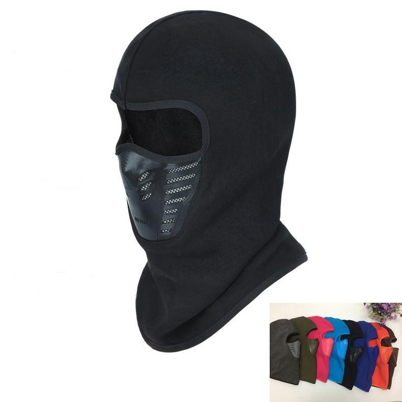 Black Windproof Motorcycle Face Mask