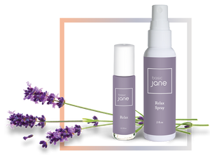 Relax from Basic Jane Topical Pain Relief with Hemp, Menthol and Lavender