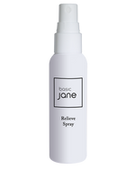 Relieve Natural Topical Pain Relief Spray with CBD derived from Hemp and Menthol | Basic Jane