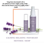 Relax Aromatherapy Rollers for Natural Pain Relief with Cannabidiol Oil  and Lavender