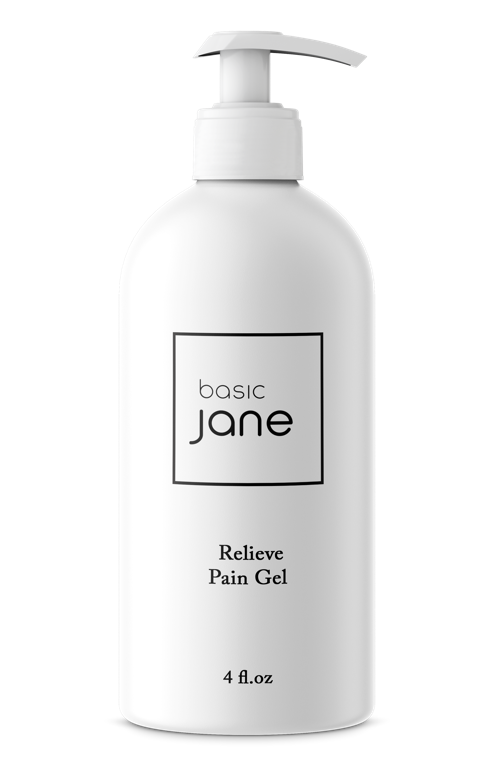 Soothing Aloe Natural Pain Relief CBD Gel I Basic Jane
