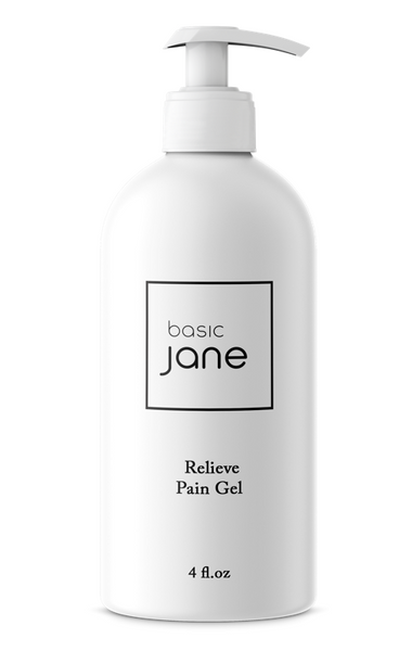 Soothing Aloe Pain Relief Gel I Basic Jane