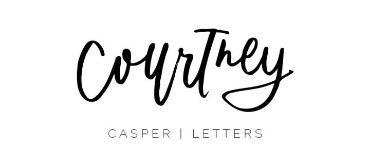 Courtney Casper Letters