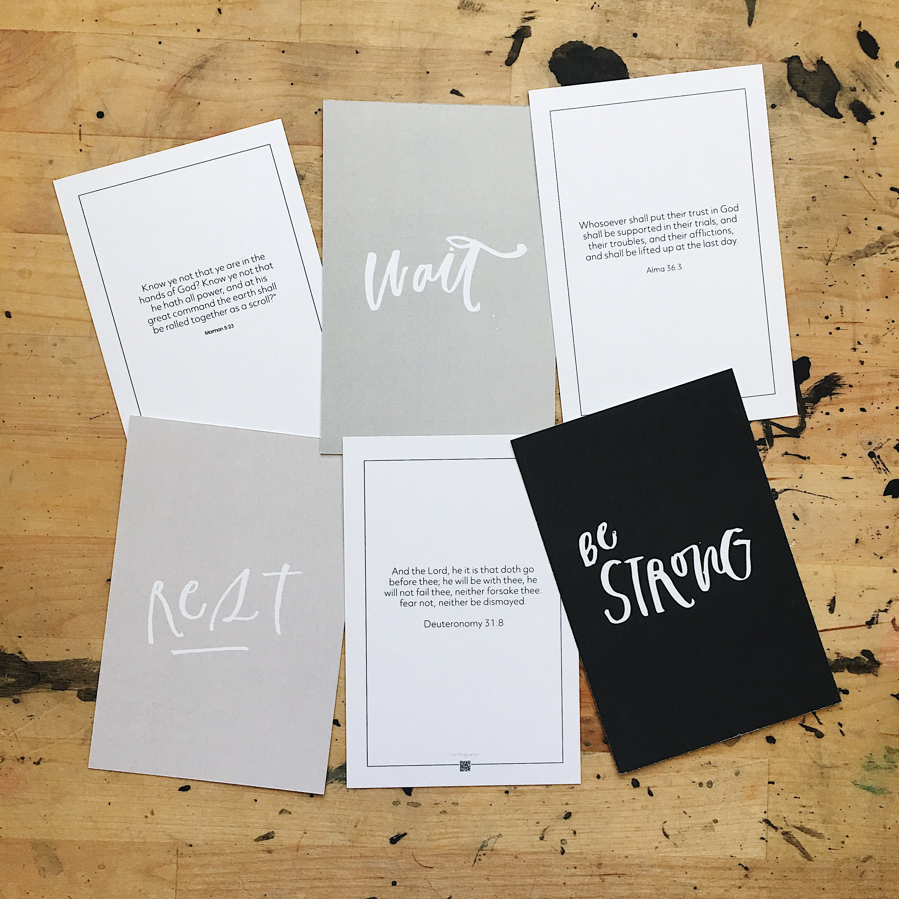 MINI Scripture Verse Cards (Memorizing)