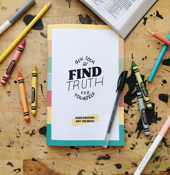 Kids Study & Art Journal: Finding Truth