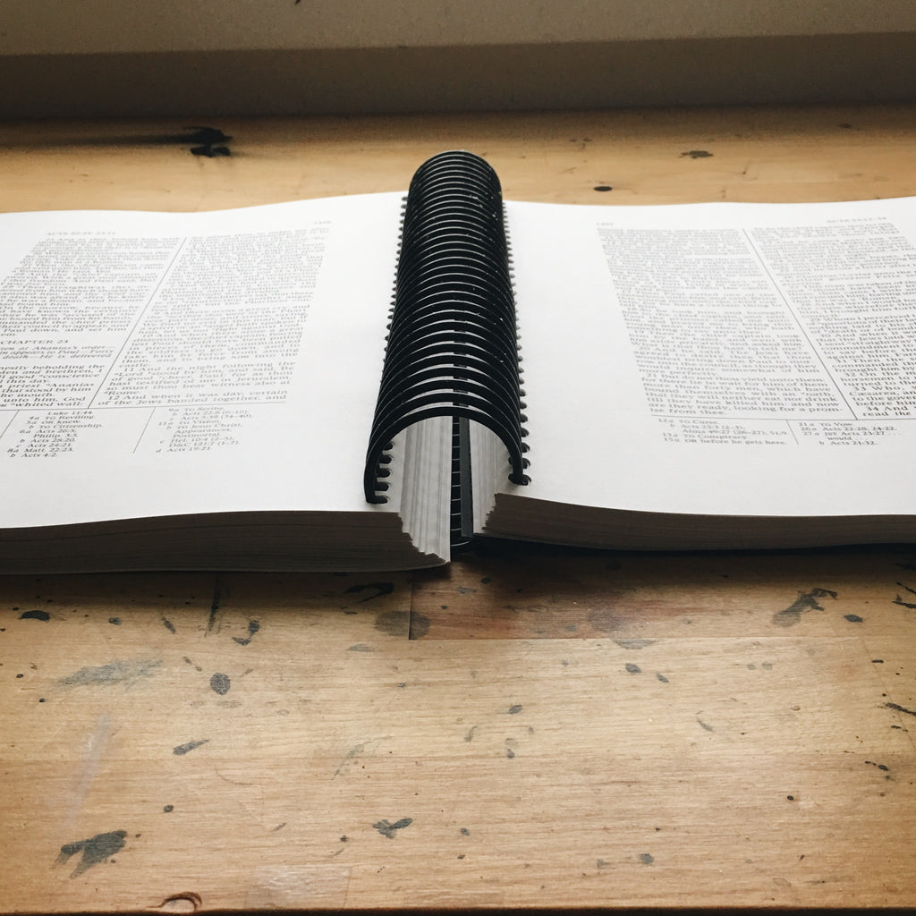 Wide Margin New Testament: Printed & Bound