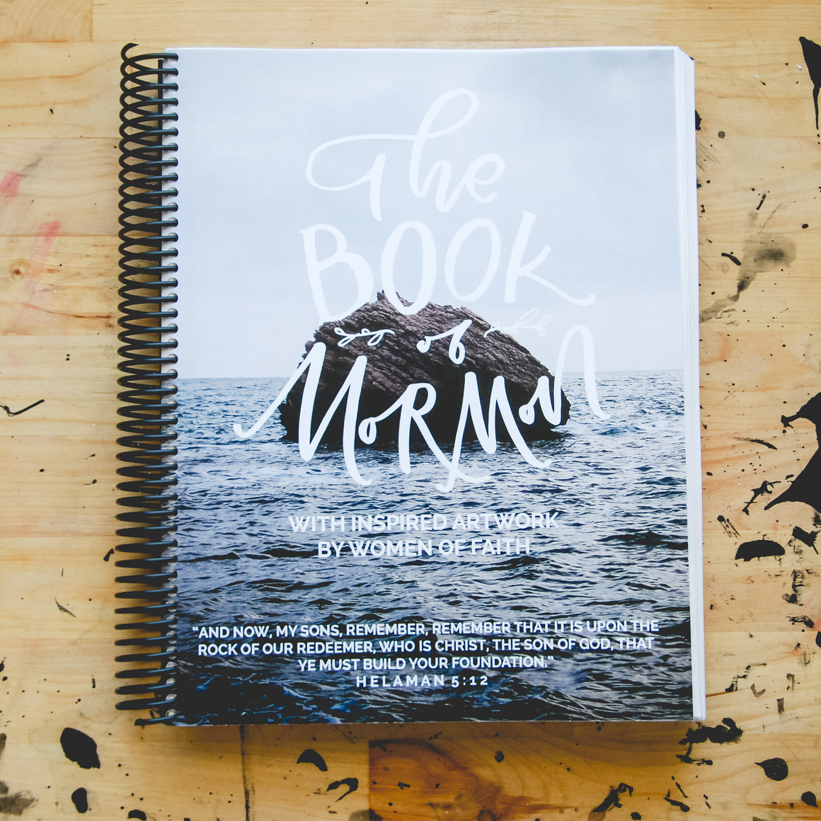 PreOrder // The Book of Mormon Project: Wide Margin, Spiral Bound