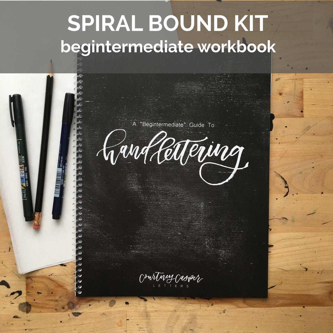 Begintermediate Workbook Spiral Bound Kit