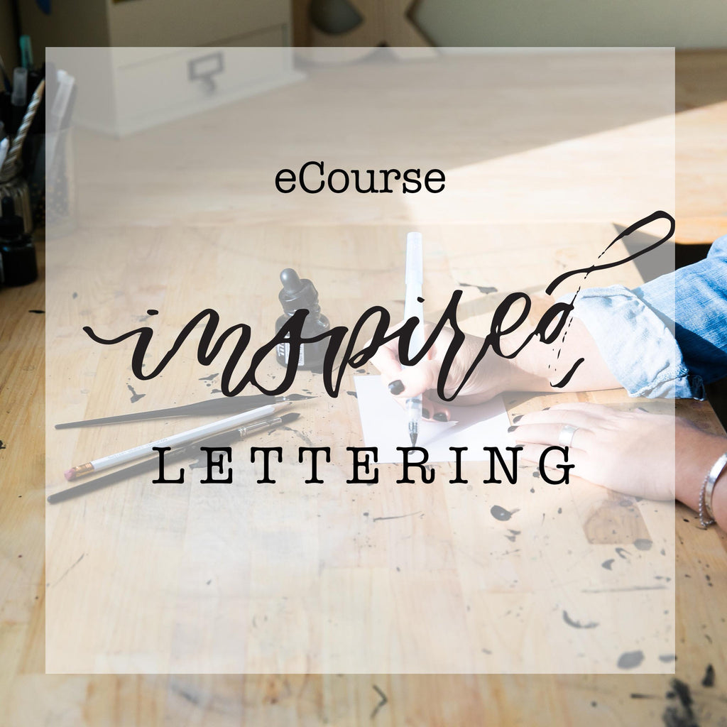 eCourse: Inspired Lettering