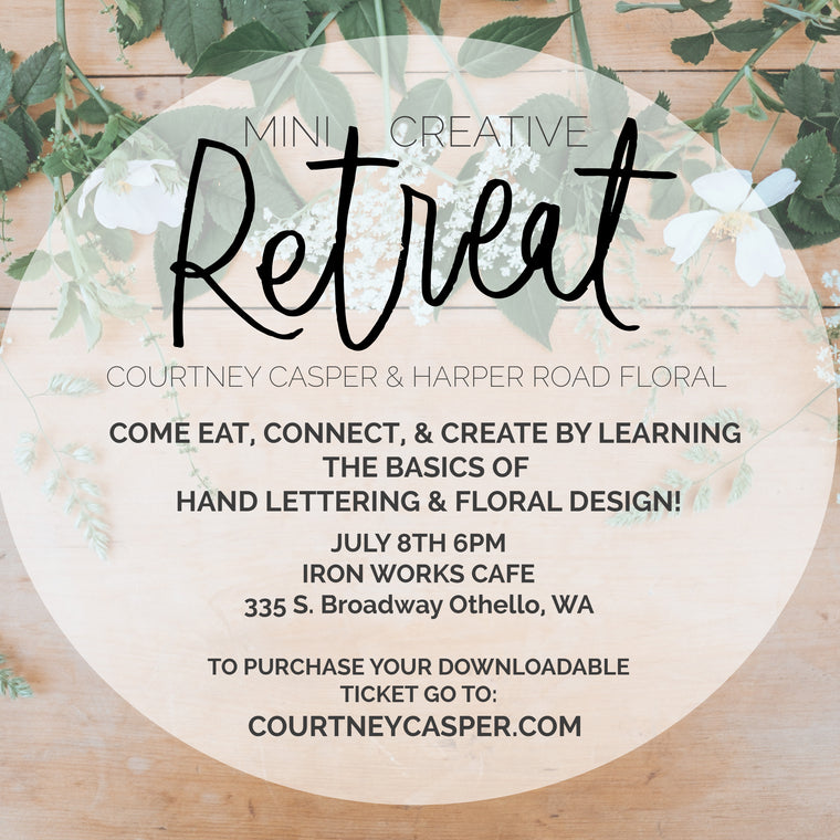 Mini Creative Retreat & Workshop!