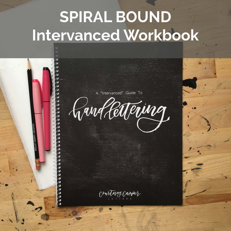 Intervanced Guide to Handlettering Spiral Bound Kit