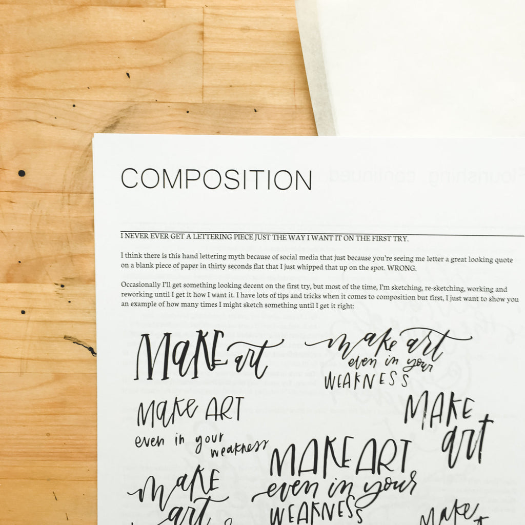 Intervanced Guide to Handlettering Downloadable