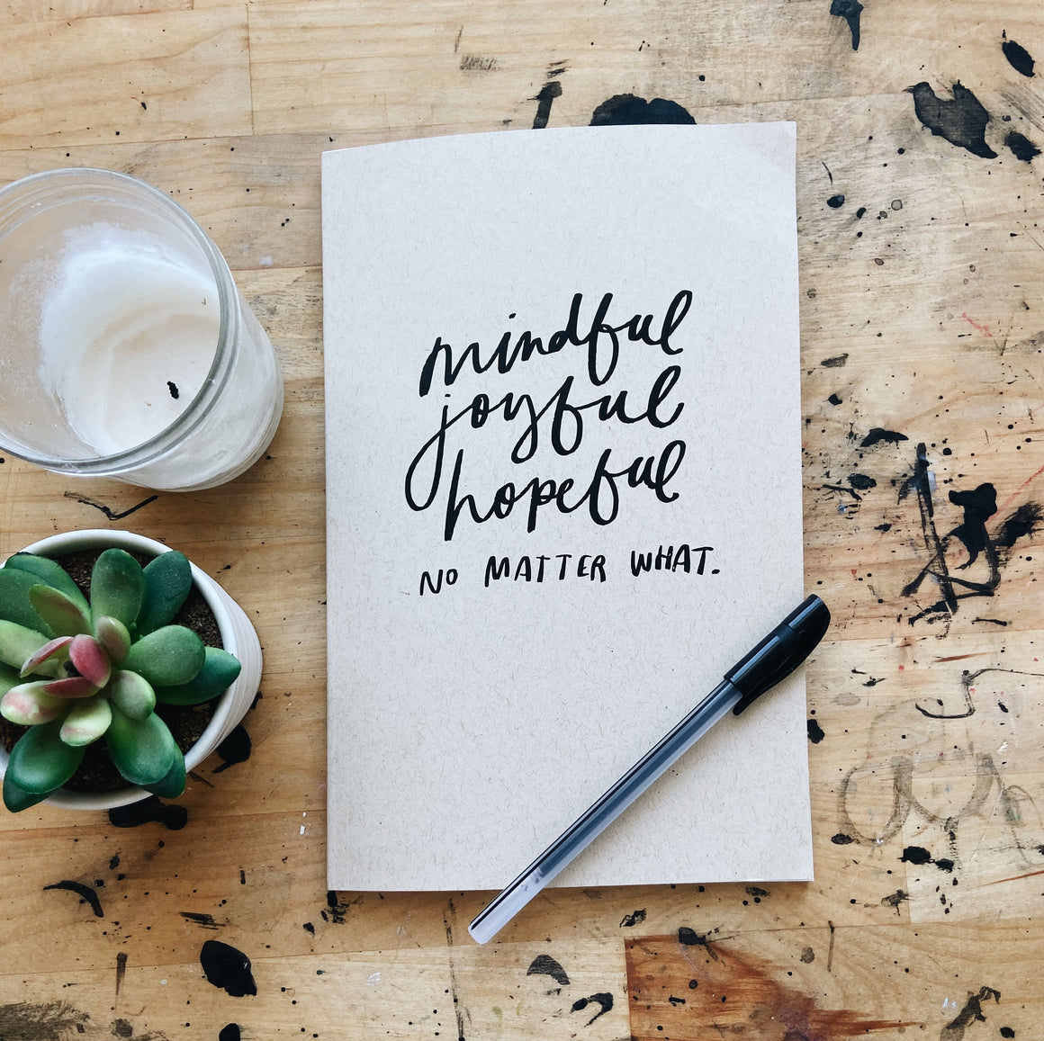 Mindful, Joyful, Hopeful  | Journal