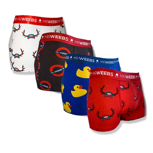 Pack 4 Boxers