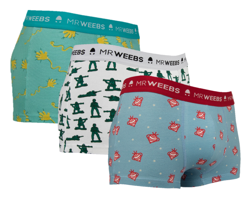 Pack 3 boxer MrWeebs