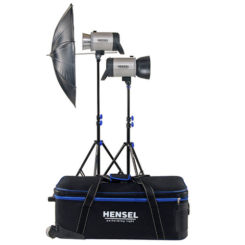 Integra 500 - 2 Light Kit w/ Stands