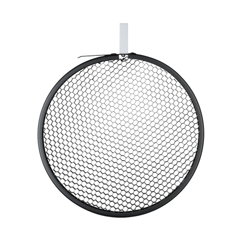 "12"" Honeycomb Grid round black No. 3 (40°)"