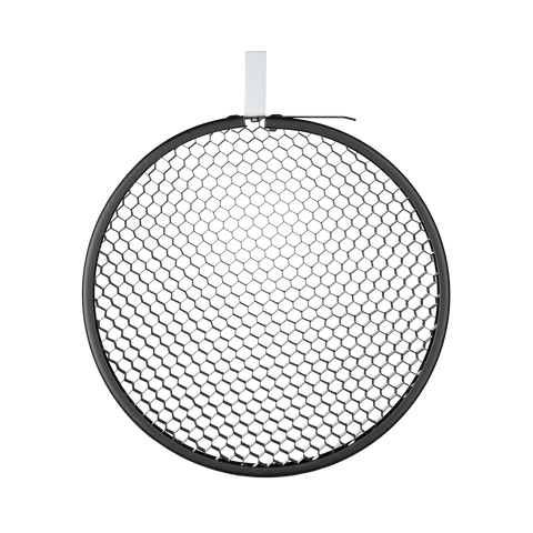 "12"" Honeycomb Grid round black No. 4 (50°)"