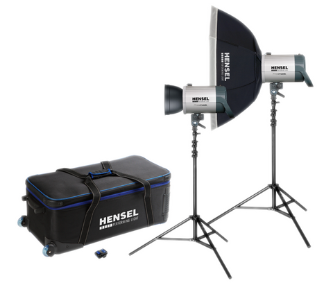 Promotion - Integra Plus Octa Kit 1000/w 2 stands - The perfect portraiture kit