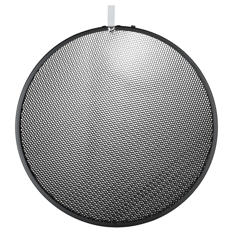 "12"" Honeycomb Grid round black No. 1 (20°)"