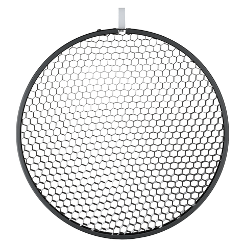 "12"" Honeycomb Grid round black No. 3"