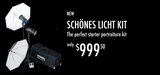 Discontinued - Schönes Licht Kit - Monolights - Hensel USA