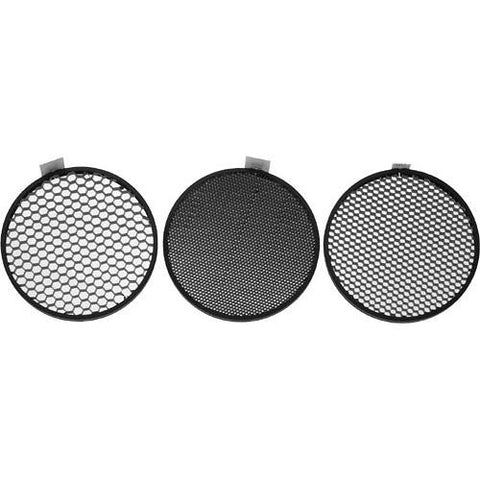 "Honeycomb grid set of 3 for 7"" Reflector"