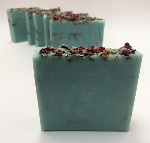 Sandalwood Rose Soap with Kaolin Clay