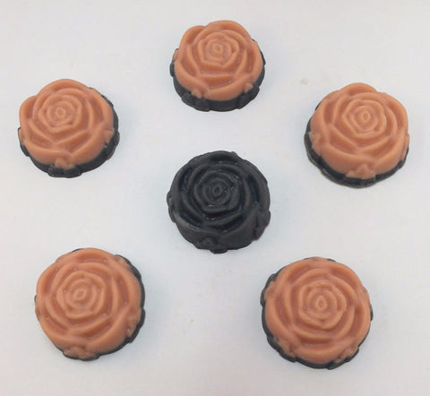 Enchantment Roses Handmade Vegan Soap with Kaolin Clay & Activated Charcoal