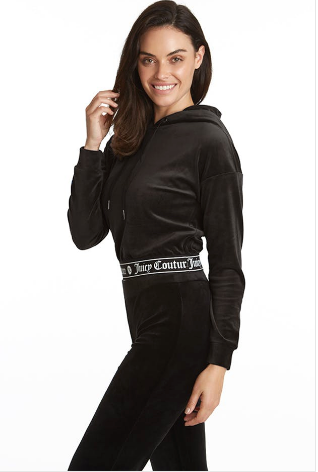 Juicy Couture Signature Cropped Pullover