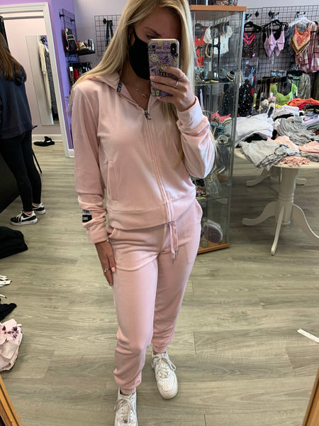 Juicy Couture Charming Pink Jogger