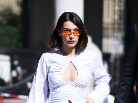 mixed lemonade celebrity sunglasses bella hadid