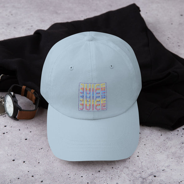 JUICE TIMES 6 Dad Hat (Light Blue/Tan/Pink/White) 🔥 - Mixed Lemonade