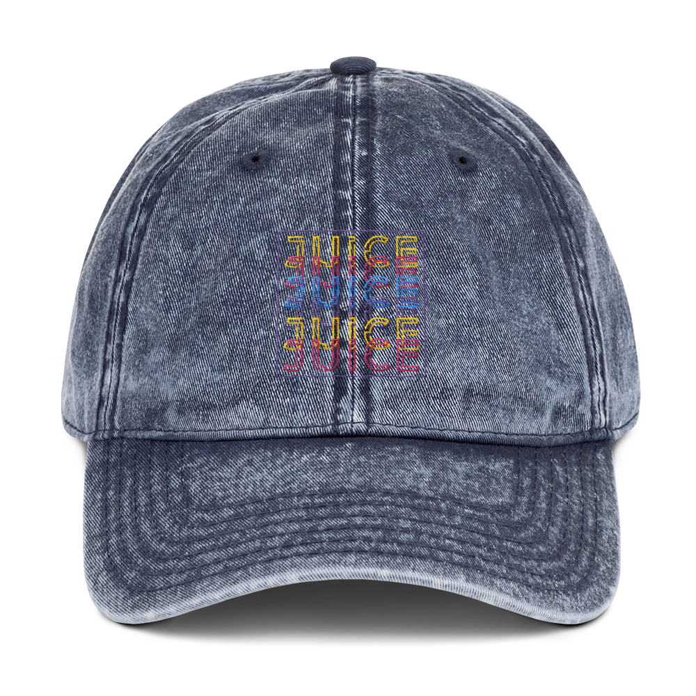 JUICE TIMES 6 Dad Hat (Washed) 🔥 - Mixed Lemonade