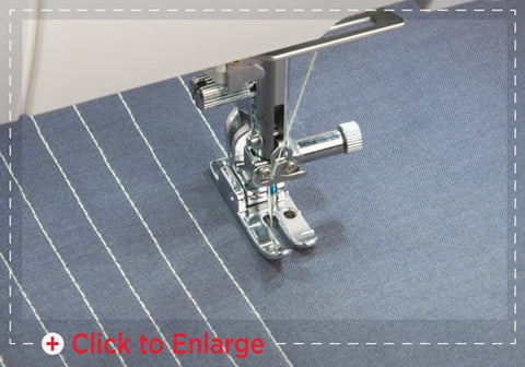 Janome Foot and straight stitch plate