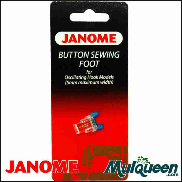 Janome Button Sewing Foot - 200131007