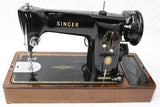 Singer Sewing Machine Instruction Manual (hardcopy) model 201K