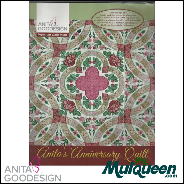 Anita Goodesign - Premium Collection - Anita's Anniversary Quilt