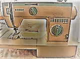Singer Sewing Machine Instruction Manual (hardcopy) model 4015