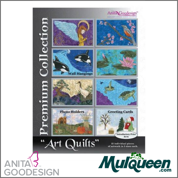 Anita Goodesign - Premium Collection - Art Quilts