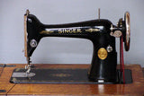 Singer Sewing Machine Instruction Manual (hardcopy) model 66 Treadle
