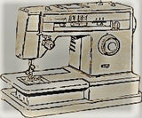 Singer Sewing Machine Instruction Manual (hardcopy) model 8134